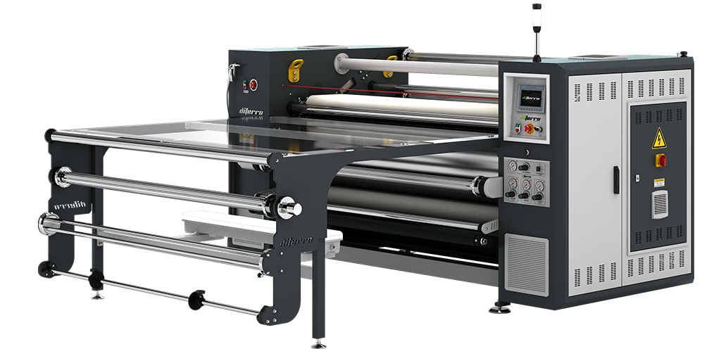 DP-18B500C Piece & Roll to Roll Transfer Printing Machine