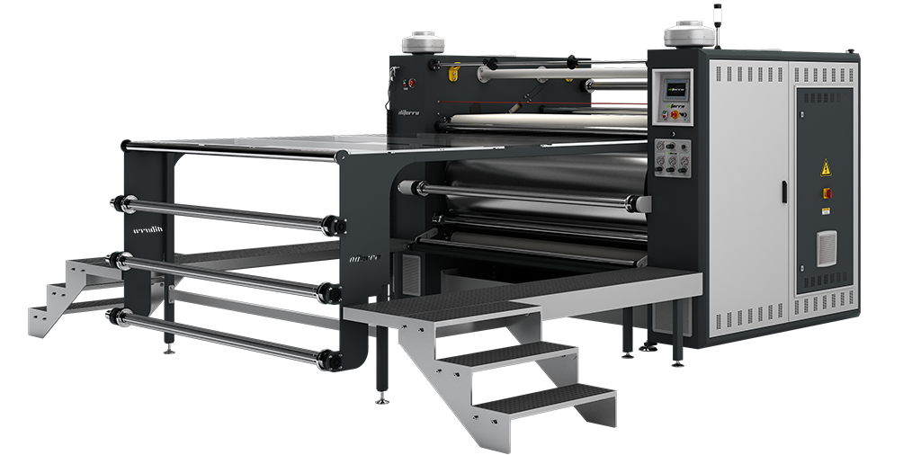 DP-20B1000C Piece & Roll to Roll Transfer Printing Machine PARÇA & METRAJ TRANSFER BASKI MAKİNALARI - DP-20B1000C