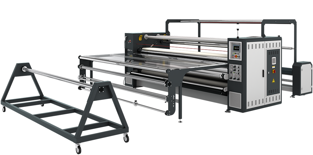 DP-33B500C  Piece & Roll to Roll Transfer Printing Machine - PARÇA & METRAJ TRANSFER BASKI MAKİNALARI - DP-33B500C