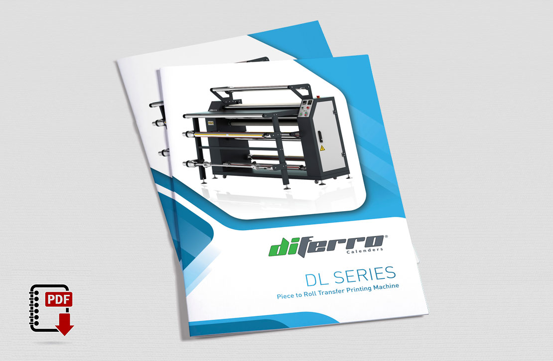 DL Series Piece & Roll to Roll Transfer Printing Machine